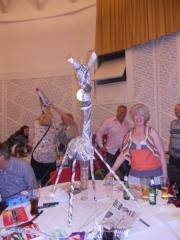 paper sculpting - giraffe